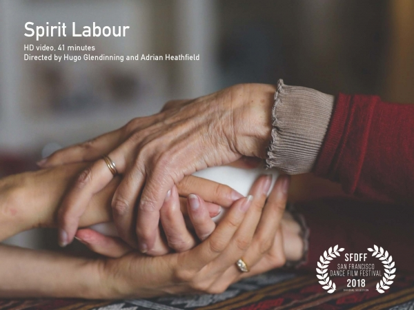 """Janine Antoni featured in """"Spirit Labour"""", a film presented by San Francisco Dance Film Festival"""