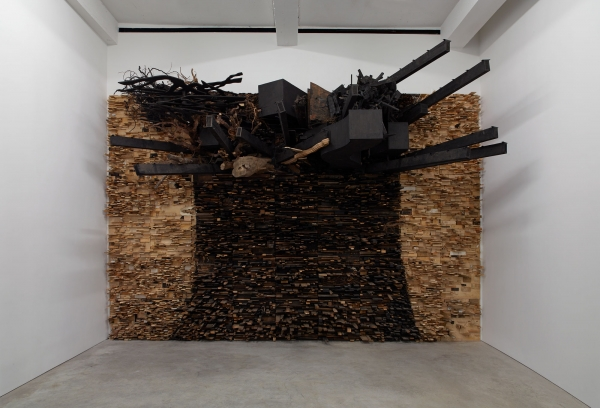 """Leonardo Drew is included in """"Polyphonic: Celebrating PAMM's Fund for African American Art"""" at the Perez Art Museum Miami"""