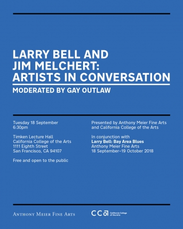 Larry Bell and Jim Melchert: Artists In Conversation, Moderated by Gay Outlaw