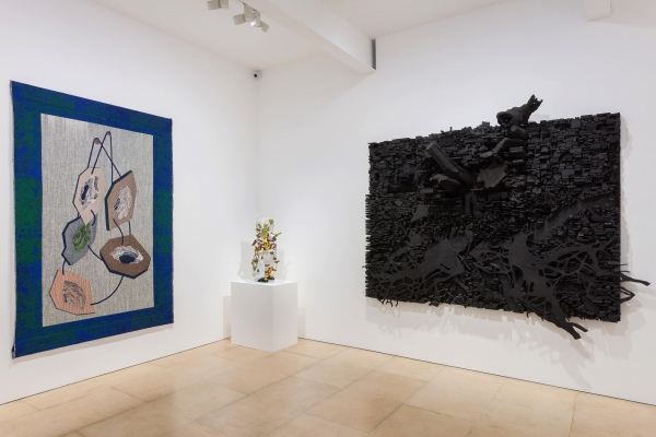 """Leonardo Drew in """"Talisman In The Age Of Difference"""" at Stephen Friedman Gallery"""