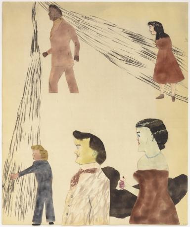 """Jockum Nordström in """"Kees Goudzwaard - Jockum Nordström - Bart Stole - Mircea Suciu"""" at Zeno X Gallery"""