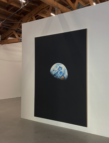 """Rob Reynolds in """"Emergency on Planet Earth: In a Time Close to Now"""" at UTA Artist Space, Beverley Hills"""