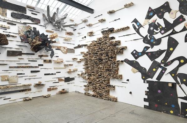 """Leonardo Drew in """"Leonardo Drew"""" at Galerie Lelong & Co., New York City"""