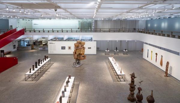 "Gary Simmons in ""Afro-Atlantic Histories"" at São Paulo Museum of Art"