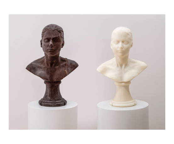"Janine Antoni in ""Selves and Others"" at the San Francisco Museum of Modern Art"