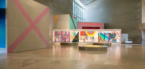 """Sarah Cain's """"My favorite season is the fall of the patriarchy"""" at the National Gallery of Art"""