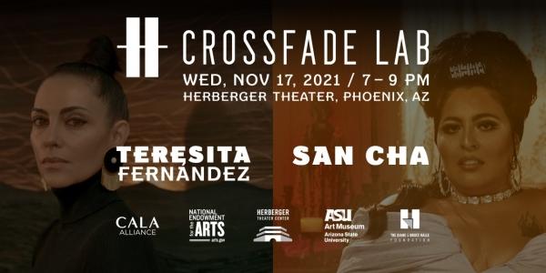 Teresita Fernández and San Cha in Conversation at Crossfade Lab, Phoenix