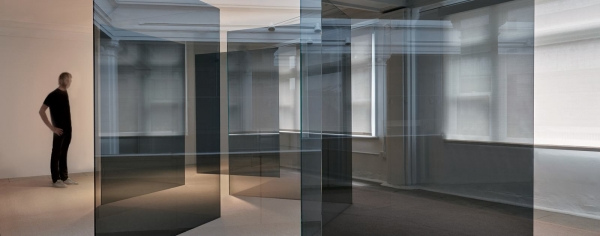"""Larry Bell in """"Space Shifters"""" at Hayward Gallery"""