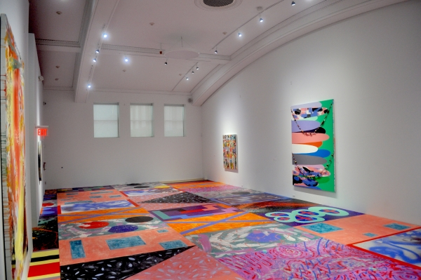 """""""Sarah Cain: hand in hand"""" at the Colby Museum of Art, Maine"""
