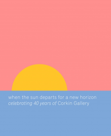 When the sun departs for a new horizon