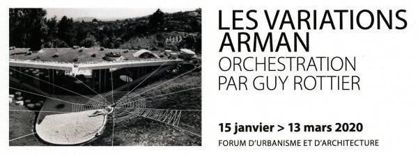 Les Variations Arman, orchestration par Guy Rottier