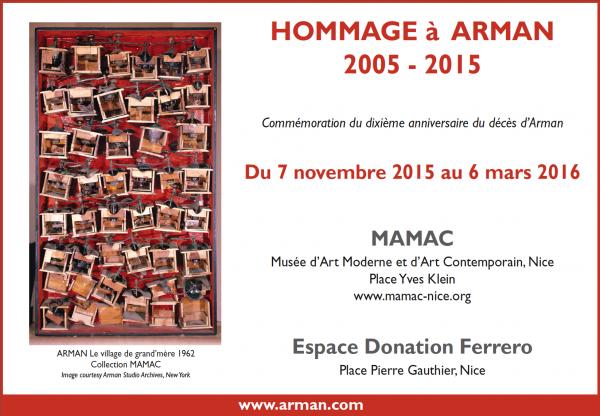 Hommage à Arman: 2005-2015