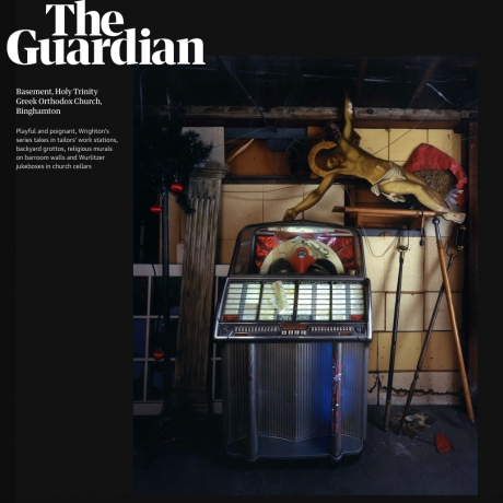 The Guardian features Bruce Wrighton