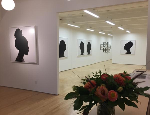 Erica Deeman Silhouettes reviewed in Gallery Gurls
