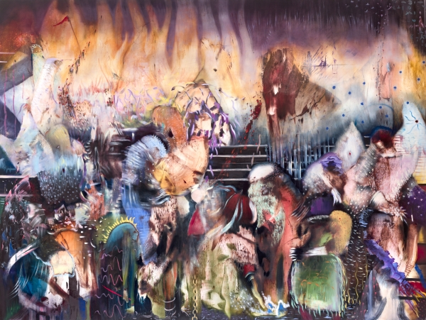 "Ali Banisadr: ""Beautiful Lies""- Solo Museum exhibitions"