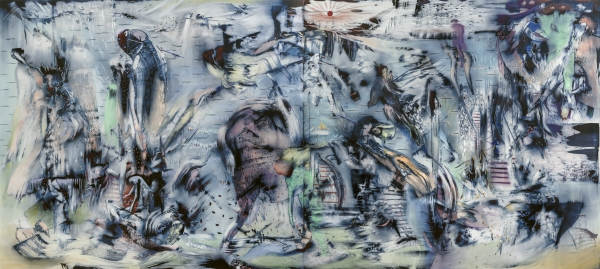 """Ali Banisadr """"These Specks of Dust"""", Solo Exhibition"""