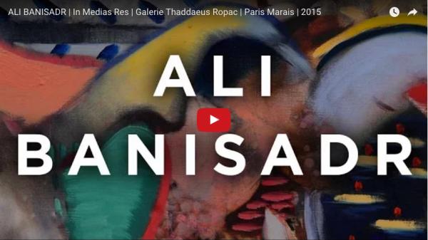 """Ali Banisadr: """"In Medias Res"""" Video"""