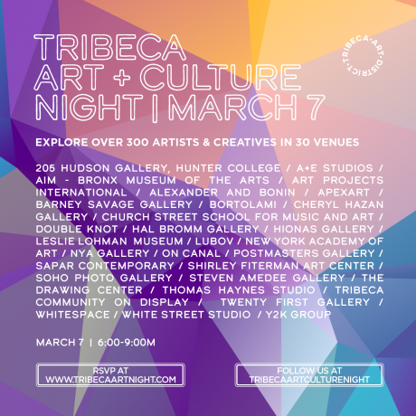 Tribeca Art+Culture Night : 10th Edition