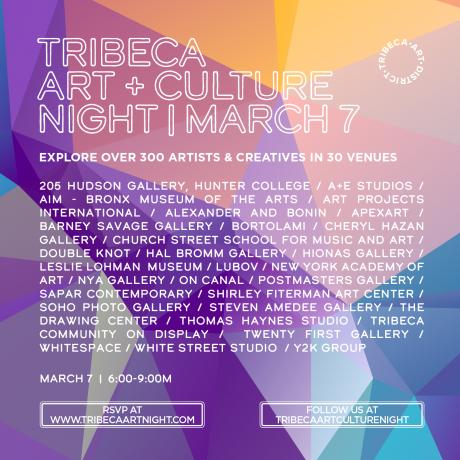 Tribeca Art+Culture Night : 10th Edition