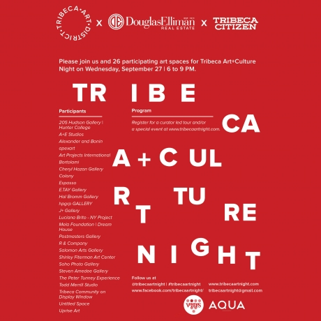 Tribeca Art+Culture Night : 5th Edition