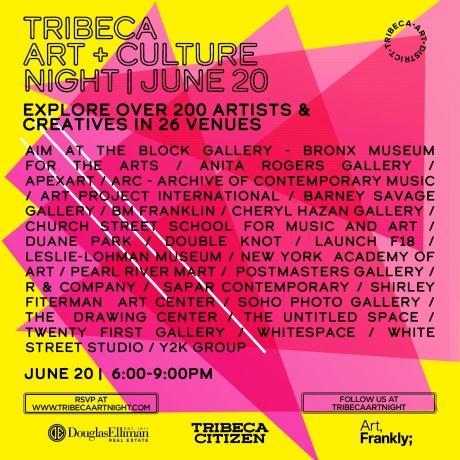 Tribeca Art+Culture Night : 11th Edition
