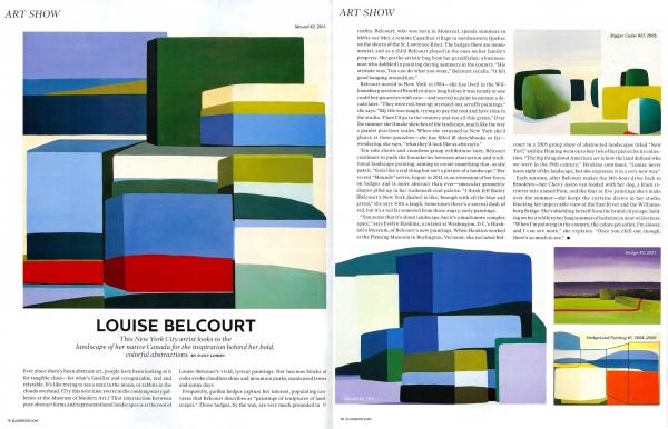 ART SHOW: Louise Belcourt