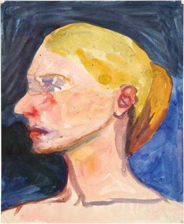 Richard Diebenkorn portrait of a woman