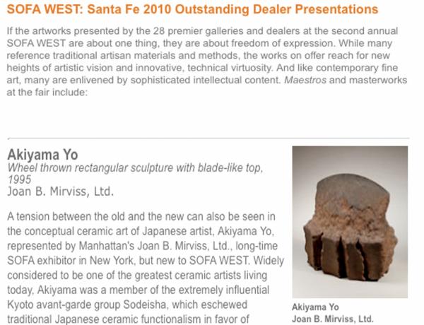 SOFA WEST outstanding dealer presentations