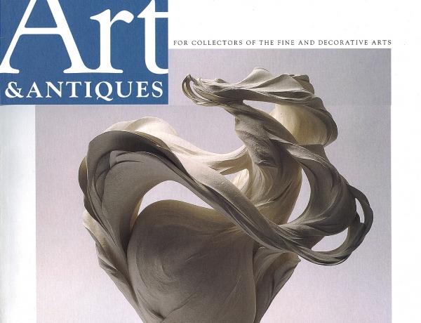 Fujikasa Satoko in Art & Antiques Magazine