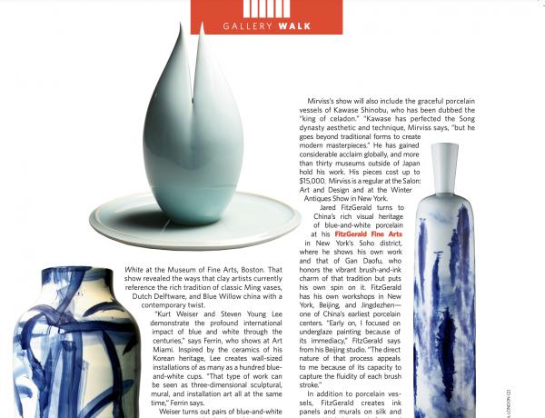 Modern Magazine: Gallery Walk