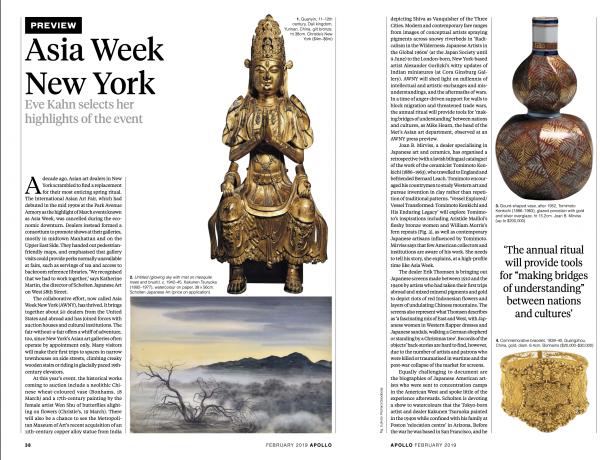 Apollo: The International Art Magazine