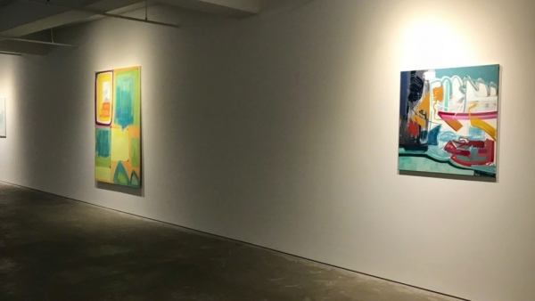 Purple Noon: Olivia Kaiser Exhibition Review in the Wall Street International