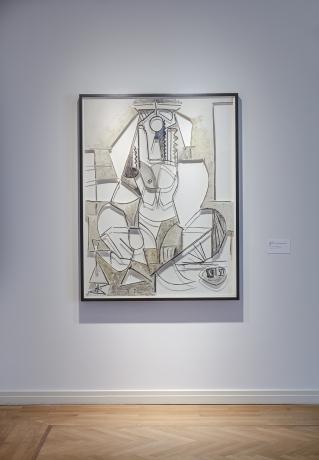 Jose Dávila in Picasso & Les Femmes d'Alger