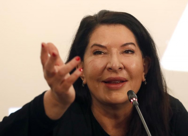 Performance artist Marina Abramovic wins Spanish arts prize