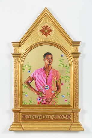 Kehinde Wiley, Marina Abramović, Joseph Kosuth, and Kris Martin in Icons: Worship and Adoration