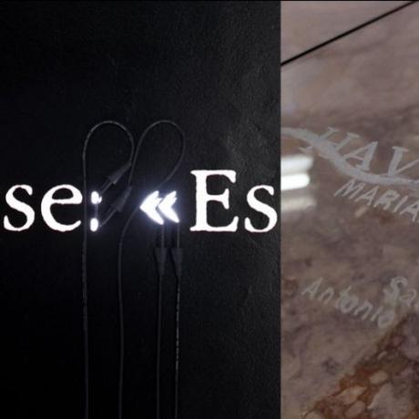 Joseph Kosuth in #83 Joseph Kosuth '(A Grammatical Remark) #11', 2019