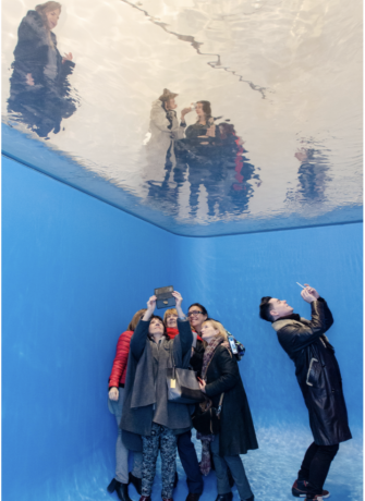 Leandro Erlich in A Tension