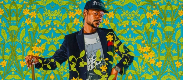 Kehinde Wiley in From the Golden Age to the Moving Image