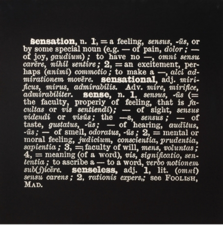Joseph Kosuth in DREAMCATCHERS