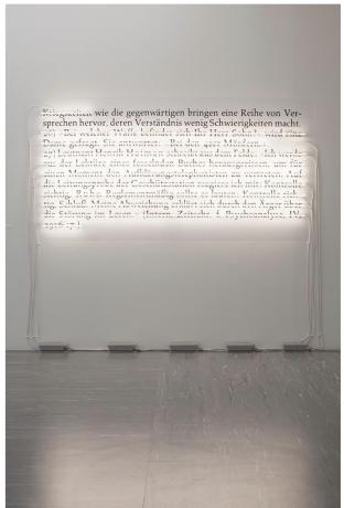 Joseph Kosuth in Avant-garde and the present