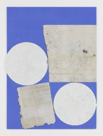 Sam Moyer in Painting/Objects: Sarah Crowner, N. Dash, Sam Moyer, Julia Rommel, Erin Shirreff