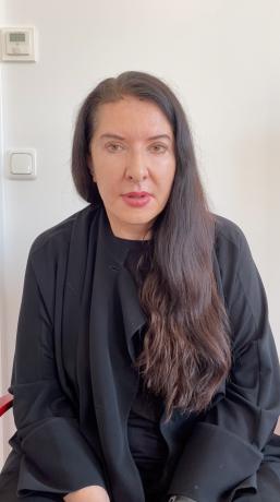 Marina Abramović in #InTheStudio