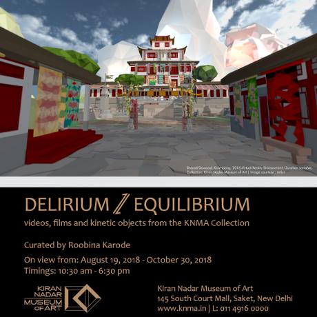 Shahzia Sikander in Delirium/Equilibrium