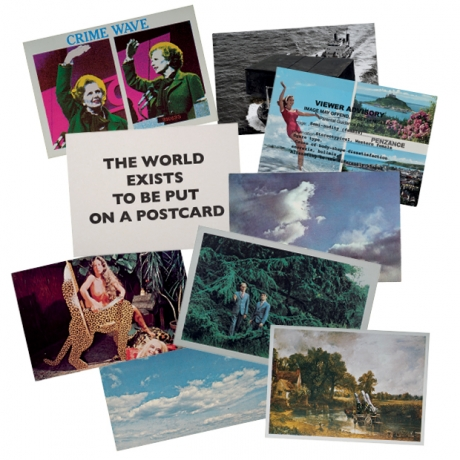 Peter Liversidge in The World Exists To Be Put on a Postcard: artists' postcards from 1960 to now