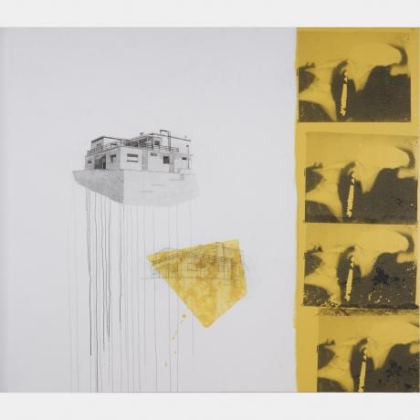 Julião Sarmento in Duas Coleções de Arte Contemporânea - Fundação Luso-Americana e Fundação de Serralves