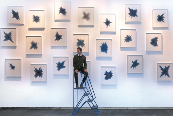 Idris Khan in Albukhary Foundation Gallery of the Islamic World