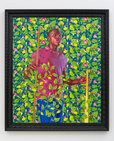 Kehinde Wiley in Breaking the Mold: Investigating Gender