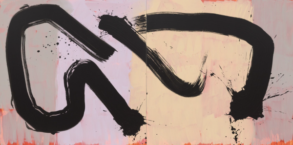Hosfelt Gallery, San Francisco, is pleased to announce its representation of the esteemed painter, calligrapher, and Rinzai Zen monk—Max Gimblett.