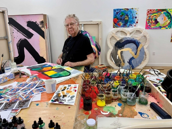 Take the 'A' Train: An interview with Max Gimblett