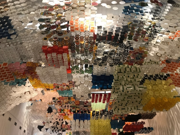 Jacob Hashimoto at the Wäinö Aaltonen Museum of Art